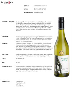 savorian.Marlborough Vines.SB.technicalsheet